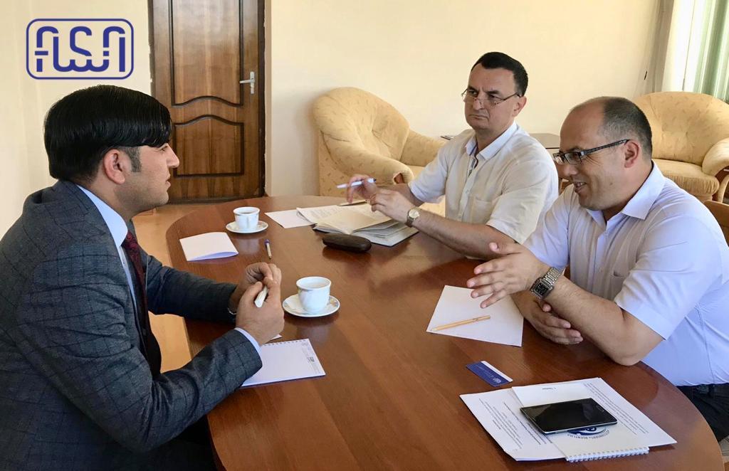 دیدار رئیس ارزیابی مطابقت از اداره ستندرد ازبکستان