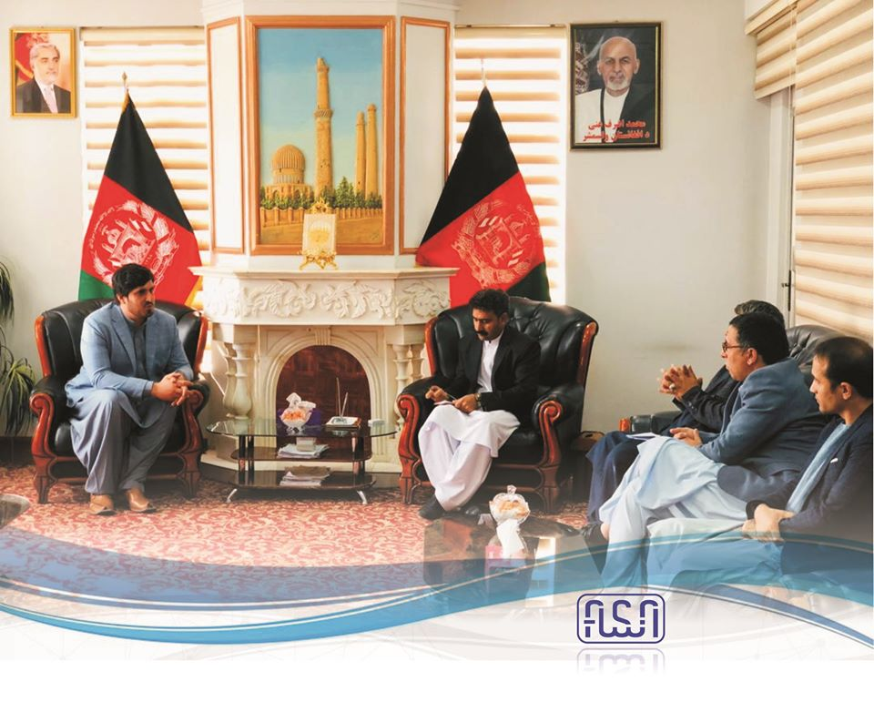 The deputy director of National Standard Authority (ANSA) met with the head of Herat Provincial Council