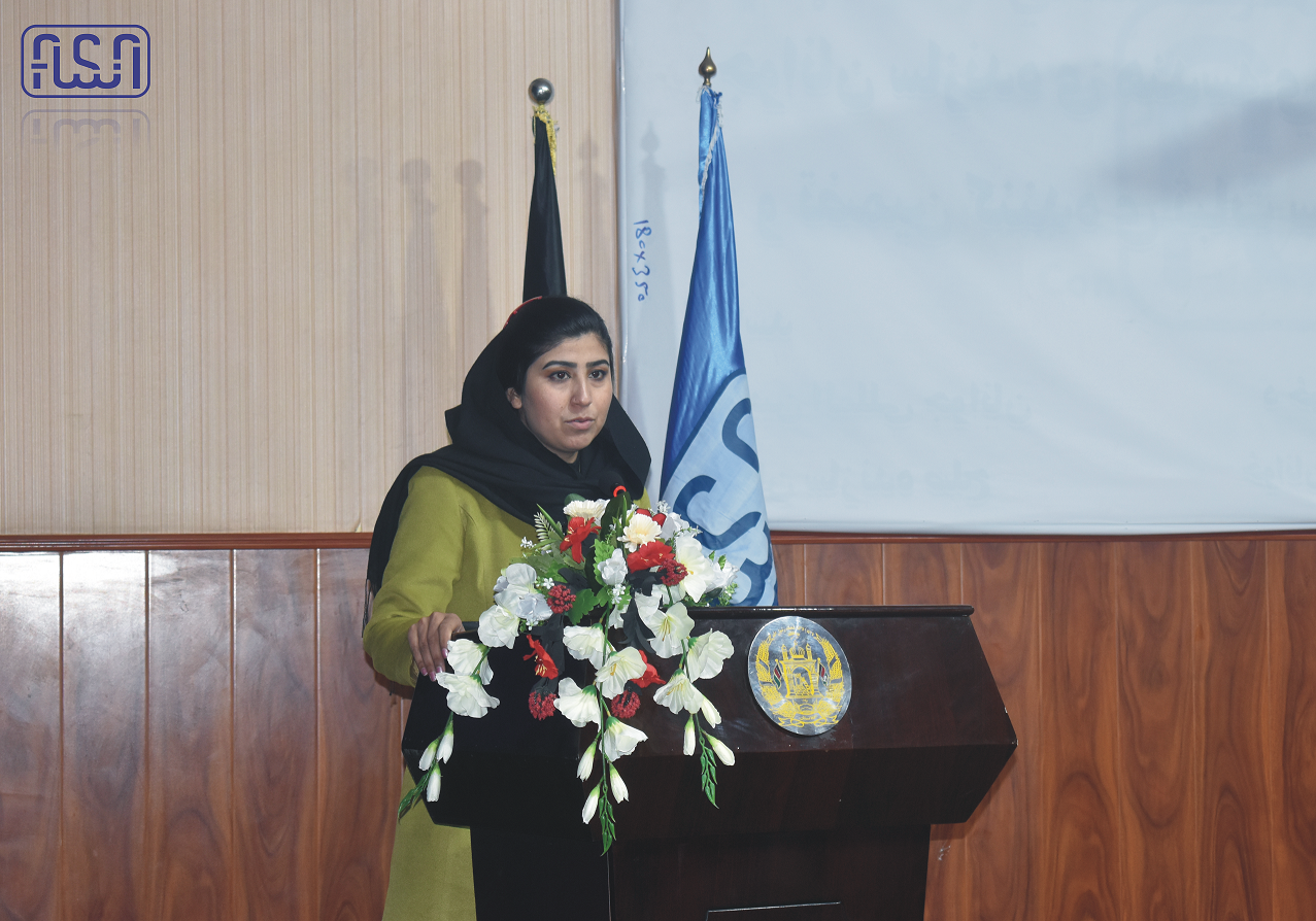 The program was developed in connection with the 16-day campaign to eradicate violence against women at the National Authority of Standards.