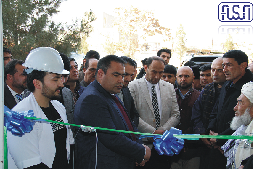 In addition to operating the laboratories by the Afghanistan National Standards Authority, the country's Hairatan port construction laboratory was opened.