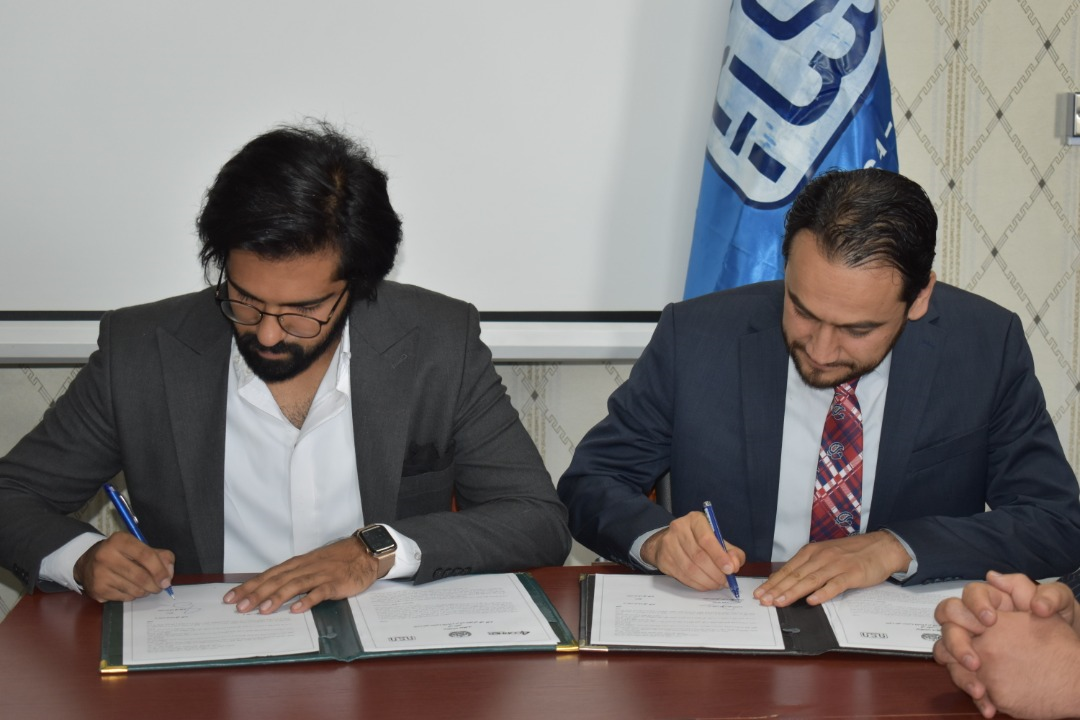Afghan National Standards Authority signed a cooperation agreement with four corners consulting.