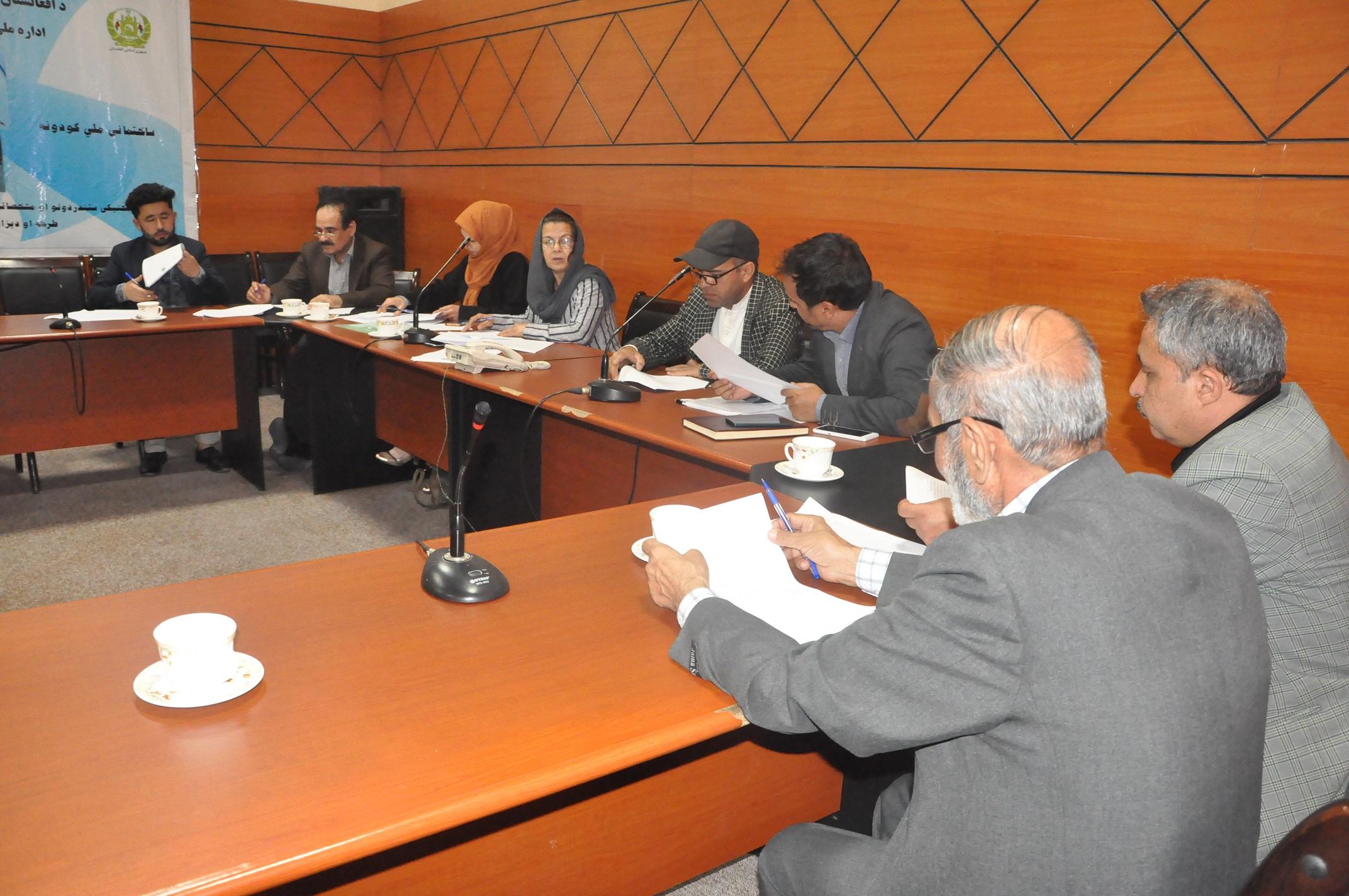 کمیته تخنیکی تدوین ستندرد های کیمیاوی و پلاستیک دایر گردید