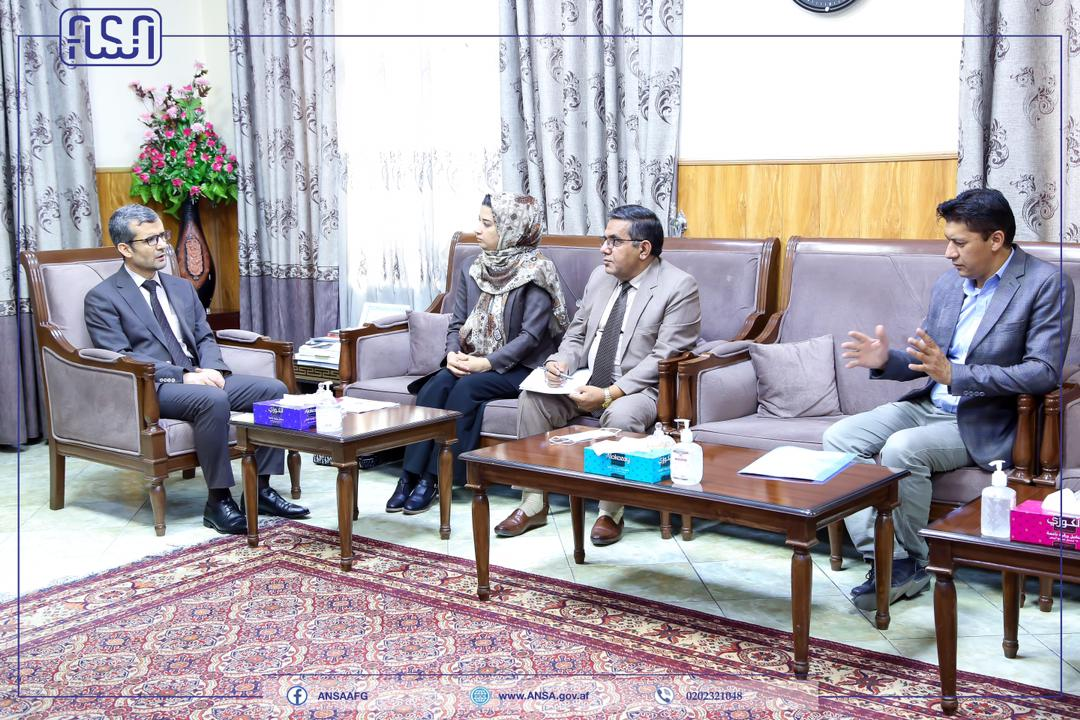 The Technical Director of the National Standards Authority met with the Deputy Minister of Higher Education.