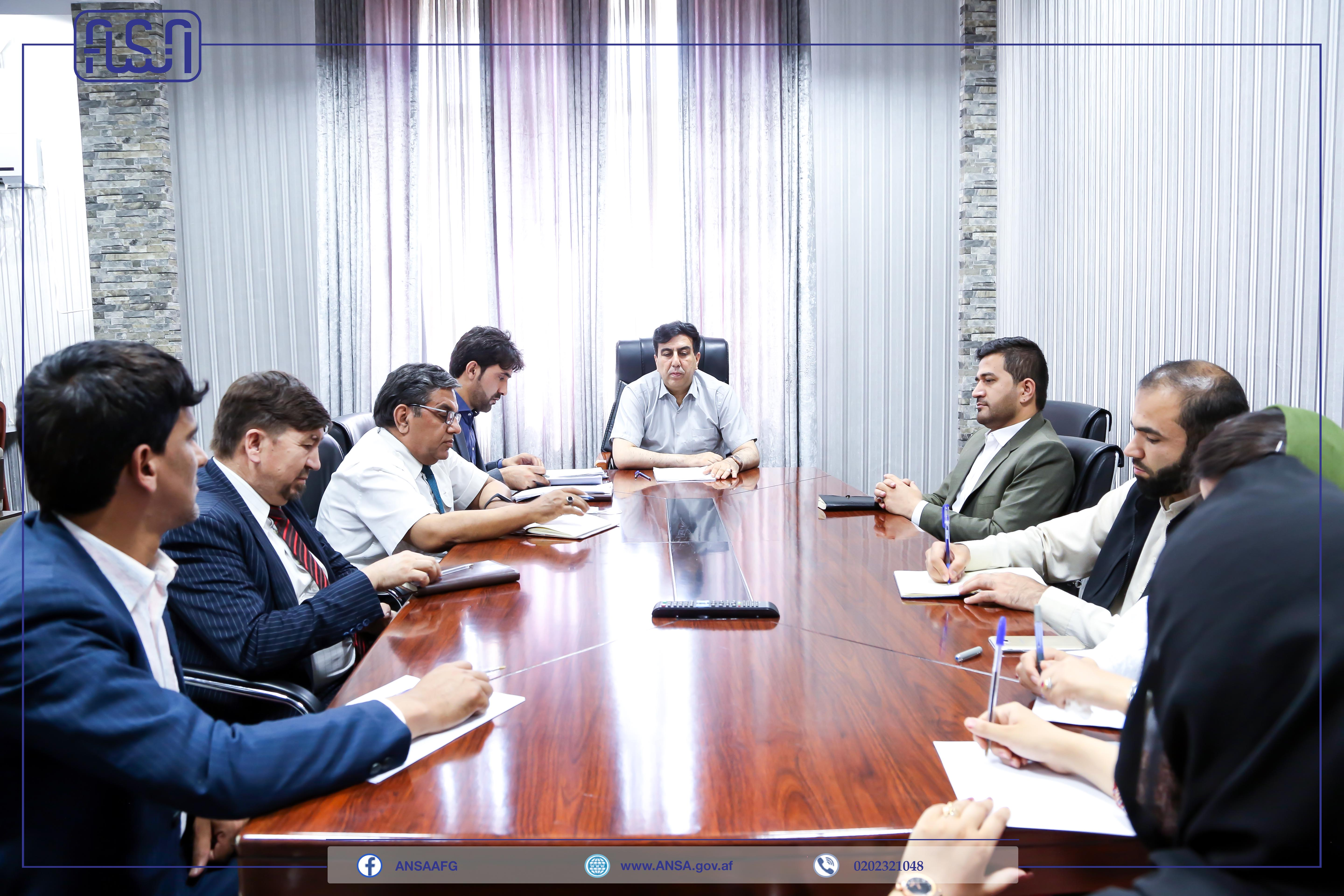 A meeting of the National Standards Authority contract evaluation committee was held.