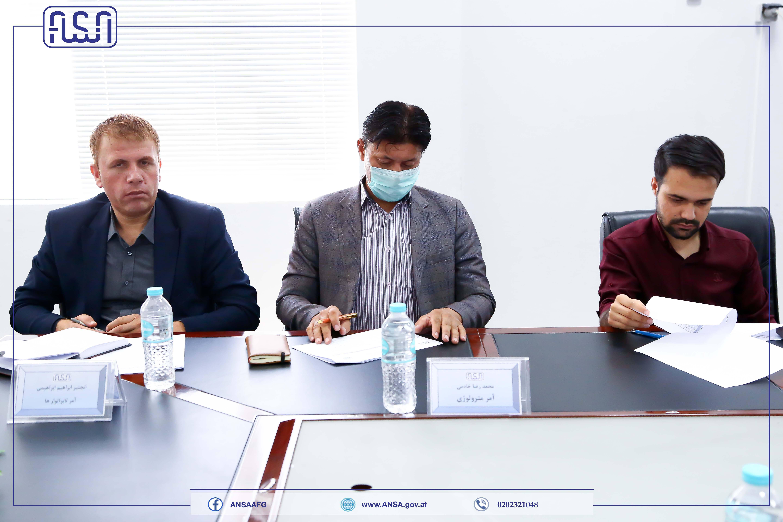 جلسه هیئت رهبری اداره ملی ستندرد برگزار شد