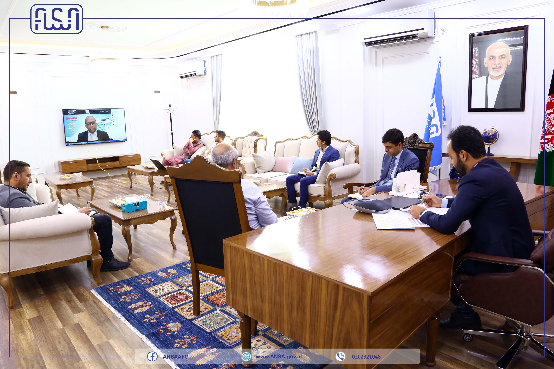 جلسه میان اداره ملی ستندرد افغانستان و اداره ستندرد کشور مالیزیا به گونه آنلاین تدویر یافت.
