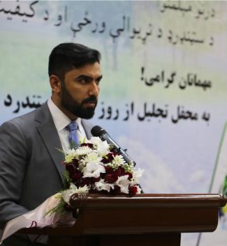 Aziz Ahmadzai ANSA Director of General